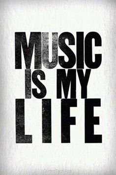 Always listen to music