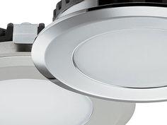 Loox 12V LED 2039 bathroom downlight, IP65 rated