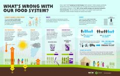 People are hungry not because there isn't enough of food produced but because our food system is broken - 80% of the world's hungry are directly involved in food production!