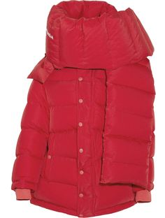 Balenciaga Oversized Quilted Shell Down Jacket - Red Puffer Jackets, Outerwear Jackets, Puffer Coats, Women's Coats, Mens Winter Coat, Winter Jackets, Winter Coats, Ski, Winter