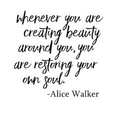 Restore your beautiful soul. #BeOrganic via @jotitdownco