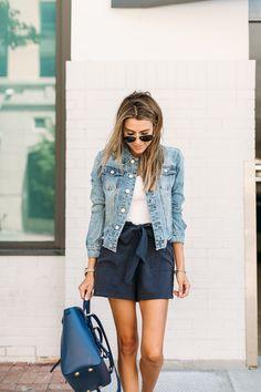 Denim Jacket Summer Style