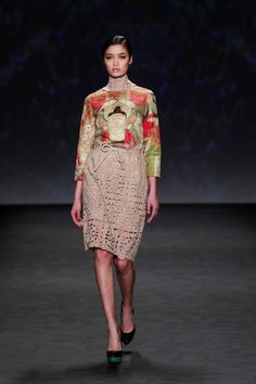 Vivienne Tam Inspired By Dunhuang And Digital At New York Fashion Week