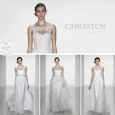 Christos, Fall 2014 collection, as seen on http://www.bride.ca/wedding-dresses/?GownTypeID=1&GownLabelID=152
