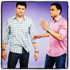 ❦ Almost Human with Karl Urban and Michael Ealy, Michael Ealy's face is so cute !