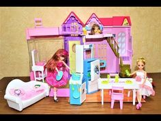 dream villa of Lelia doll : villa , furniture and kitchen toys for kids Old Things, Things To Come, Best Kids Toys, Toy Kitchen, Doll Hair, Old Toys, Sports Equipment, Baby Toys, Toddler Bed