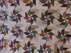 I quilted the first two scrappy quilts for Julie. Scrappy quilts are so fun, because you get to see pieces from all of your old quilts brought together in ...