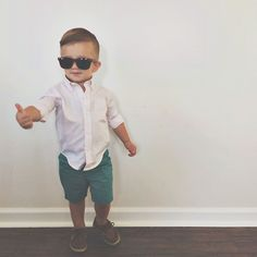 Toddler boy fashion via sarahknuth on Instagram.