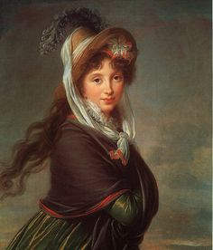 Portrait of a Young Woman by Louise-Elisabeth Vigee-Lebrun 1797