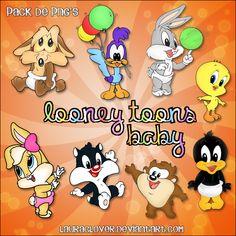 looney toons | http lauraclover deviantart com art pack de png s looney toons baby ...