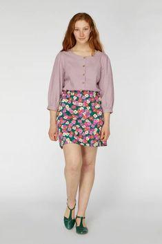 Modern Fashion, Mini Skirts, Floral, Jade, Flowers, Mini Skirt, Flower