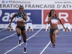#CFAthle - La lyonne est dans l'arène ! Véronique Mang est championne de France du #100m équipée des manchons d'effort #BOOSTERElite France.  Bravo Véronique. En piste vers Rio !  #bvsport #athletisme #boostyourperformnces #sprint #sprinteuse