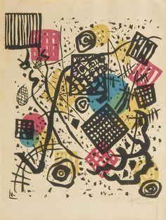 """Wassily Kandinsky, """"Kleine Welten V"""" - 1922"""