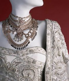 Details of Nicole Kidman's Hindi Wedding Dress from the film Moulin Rouge