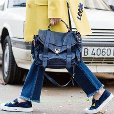 Cumartesiye uygun renkli, neseli, rahat   from @ coolhunterdiary w/ #ProenzaShouler  Ürünler —> http://buyin.social/brandstore