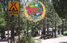 Four miles from the south shore of beautiful Lake Tahoe, surrounded by tall pines with Echo Creek running through, this campground offers a relaxing stay with dozens of activities. Click here to learn what property it is and read all about it: http://www.mobilerving.com/search/lake-tahoe-koa-23708 #camping #rv #Rving