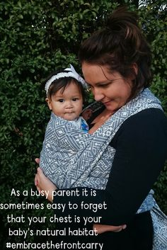 Hands free front cuddles, they aren't just for newborns Loooove Gatsby! Baby Wearing Wrap, Free Front, Woven Wrap, Cuddles, Newborns, Gatsby, Wraps, Parenting, Hands