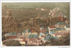 Esch-sur-Sûre, colorée 1929