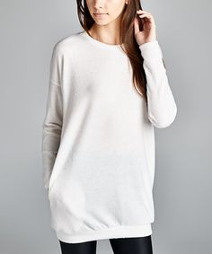 Look at this Love, Kuza Ivy Dual Pocket Tunic on #zulily today!