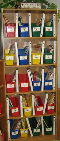 Reader's Workshop book boxes & notebooks