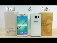 Samsung Galaxy S6 Edge (T-Mobile) and Samsung Galaxy S6 Clone/Replica - Unboxing! - YouTube