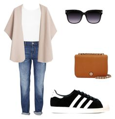 """""""Untitled #43"""" by bangtancuties on Polyvore featuring Miss Selfridge, MANGO, adidas Originals and Tory Burch"""
