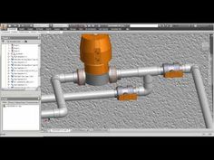 Autodesk Inventor Tube and Pipe Piping Design, Autodesk Inventor, Autocad, Learning, Youtube, Pipes, Study, Youtubers, Youtube Movies
