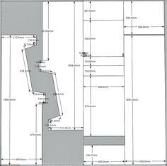 arcade cabinet plans http://vectorlib2.free.fr/Plans/vect ...