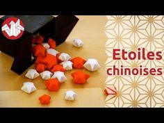 Origami - Etoiles chinoises du bonheur [Senbazuru] - YouTube