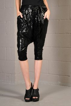 sequin hammer pants for @Brittany Horton Regimbal