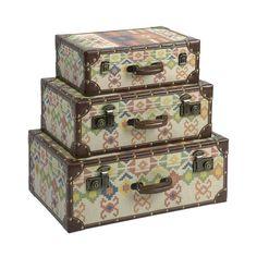 3 Piece Hacienda Storage Trunk Set at Joss & Main