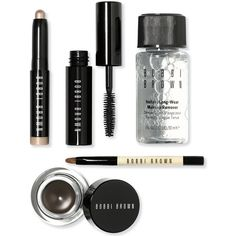 Bobbi Brown Beige Gold Long-Wear Eye Kit ($54) ❤ liked on Polyvore featuring beauty products and no color