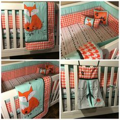 Baby Nursery ~ Baby Fox Nursery Decor Willow Crib Bedding Together With Large Size Of Discontinued Girl baby fox nursery decor. Fox Themed Nursery, Fox Nursery, Nursery Themes, Nursery Decor, Nursery Ideas, Babies Nursery, Room Ideas, Round Crib Bedding, Crib Bedding Boy