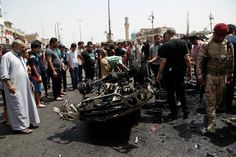 11 MAY: A car bomb at a crowded market in northern Baghdad has killed at least 64 people and wounded 87 others Iraqi police and medical sources say. It happened at the Shia district of Sadr City during the morning rush hour. So-called Islamic State (IS) claimed it was behind the attack which it said had targeted Shia militiamen. The Sunni group which controls swathes of northern and western Iraq has frequently targeted Shia whom it considers heretics.  Many of the victims included women and…