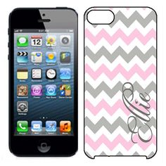 iPhone 5 Case  Monogram iPhone 5 case  Chevron by MyEliteCase, $19.95