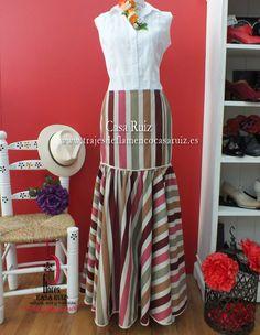 Cruise Fashion, Spanish Fashion, Classic Style, My Style, Stitch 2, Ankara, Feminine, Stripes, Casual