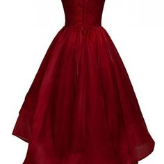 Bateau High-low Organza Homecoming ..