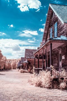 Ghost Town Val-Jalbert, Quebec, Canada