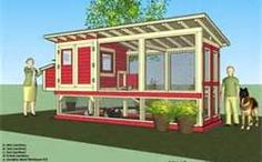 Home garden plans m101 chicken coop plans construction chicken coop plans construction chicken coop design how to build a chicken coop it can comfortably hold 18 chickens malvernweather Images