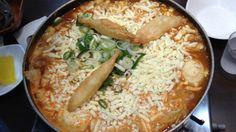 ソウル(韓国)皆大好きトッポギのお鍋料理
