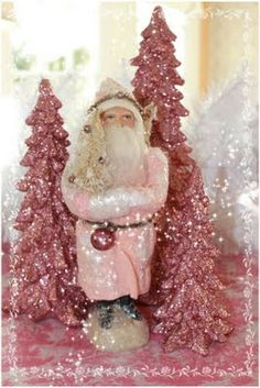 A very pink Christmas....