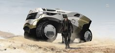 -- Hyena in desert -- by wyv1 on deviantART