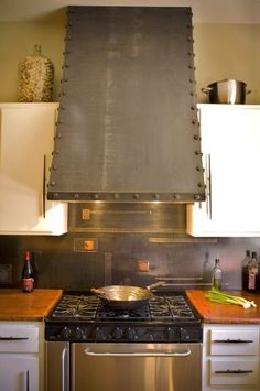 eclectic kitchen by Oak Hill Iron