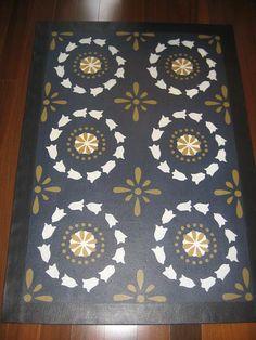 Timeless Floorcloths   Floorcloth Gallery III