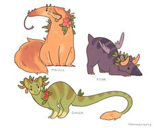 Take a Break with Strangely Katie's Calming and Restful Tea Dragons