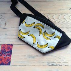 Handmade bag. Size - 28 х 14 sm. Materials - oxford, cotton. #бананка #пояснаясумка #Киев #ручнаяработа #bag #handmade