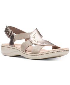 89787fec3b29 Clarks Collection Women s Leisa Joy Sandals - Silver ...