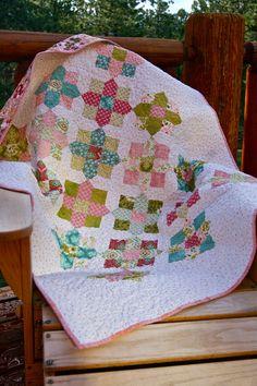 Luscious Fabric Lap Throw