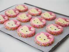 hello kitty cookie recipe howtocookthat