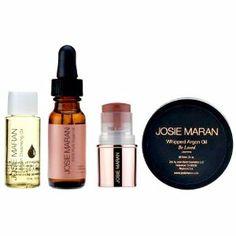 Josie Maran products..